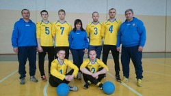 National goalball team of Ukraine - men