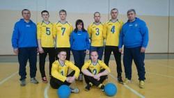 National goalball team of Ukraine - men