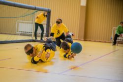 Golbolo komanda gynyboje Foto autorius Liudas Baronas   Copictures